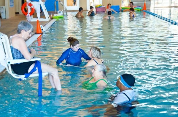 Brooks Adaptive Aquatics 2014