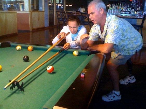 Brooks Adaptive Sports program hosts billards night