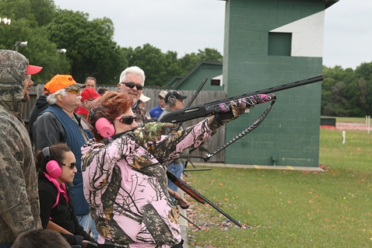 Trap Shooting April 2014