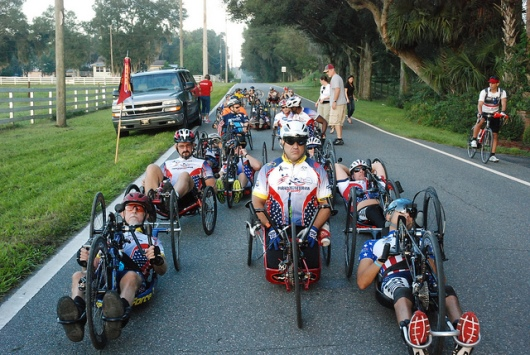 Brooks Adaptive Sports and Recreation Handcycling