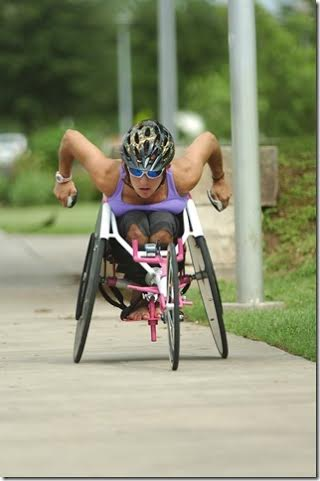 Ashley Cooper-Heath, participant of theBrooks Adaptive Sports and Recreation