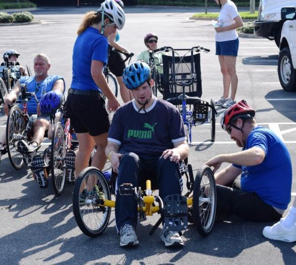 Brooks Adaptive Cycling Aug. 2014