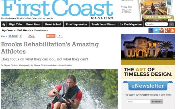 First Coast Magazine Brooks Adaptive Sports and Recreation Article