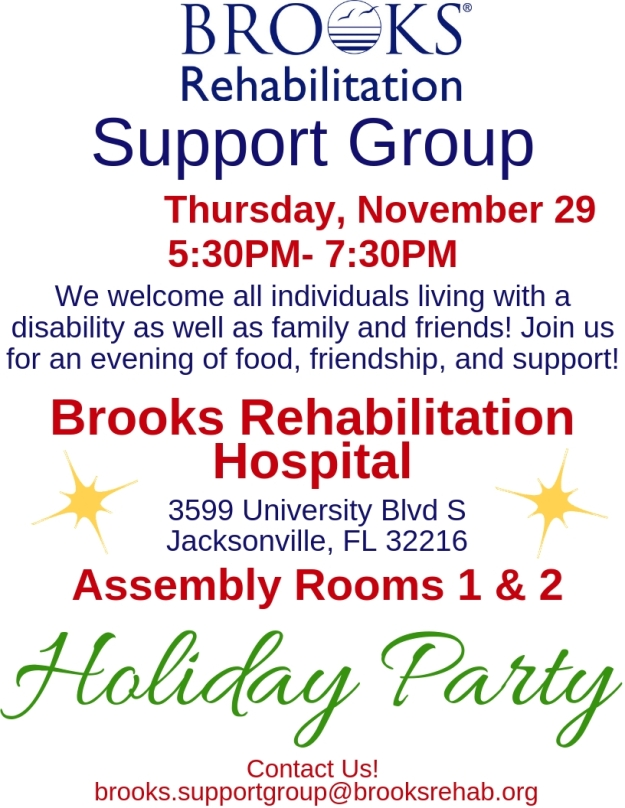 Nov. Support Group