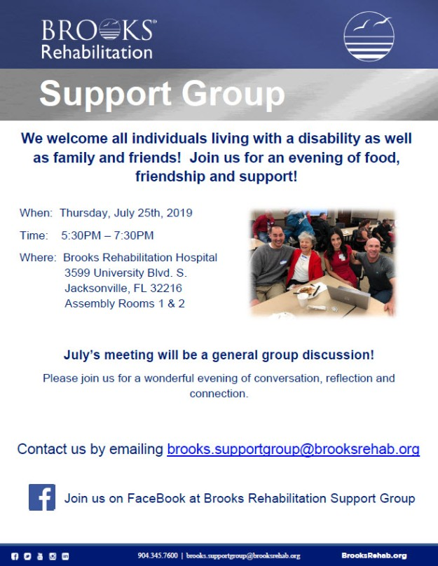 July Support Group