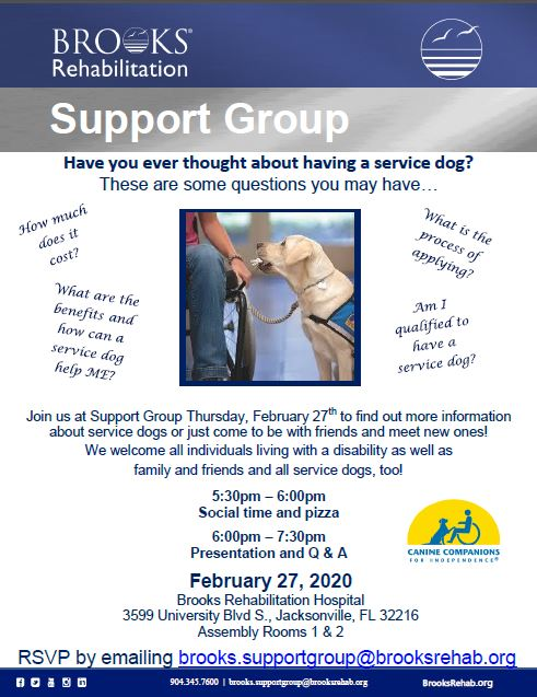 February Support Group 2020