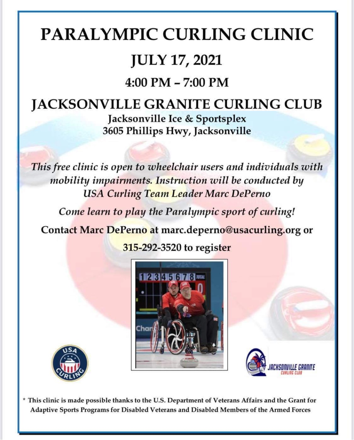 USA Curling Event